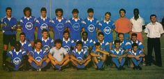 Sporting Etoile Club Bastia 1987-88 Au 3ème rang : Ceccarelli, Borges, Sabattini, Triki, Gottardi, Patrick Soler, Gilles, Valencony, Miangue, Fanton (président). Au 2ème rang : Padovani, Maroselli, De Bono, Tinmar (non retenu), Lippini, Antonetti, Ottoviani. Au 1er rang : Kaba, Solomenko, Xavier, Spinelli, Marchioni, Tchikaya, Calvet.