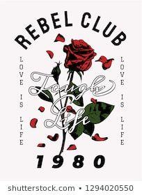 typography slogan with red rose illustration Rose Illustration, Pattern Illustration, Graphic Design Illustration, Rose Drawing Tattoo, Ichigo Y Rukia, Gothic Wallpaper, Flower Iphone Wallpaper, Aesthetic Roses, Dark Art Illustrations