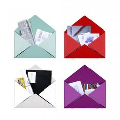 Goodwin & Goodwin Envelope wall display