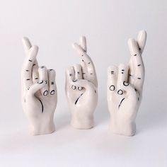 Fingers Crossed by Bolden Ceramics.