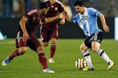 Argentina vs Venezuela En Vivo por Meridiano Televisión Eliminatorias Conmebol rumbo al Mundial Brasil 2014 juegan hoy Viernes 22 de Marzo a partir de las 18:00hrs ET en el Estadio Monumental Buenos Aires, Argentina.