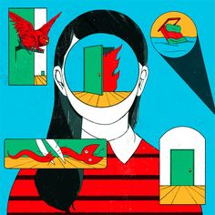 Illustrator Cristina Daura's editorial work is fresh and considered.