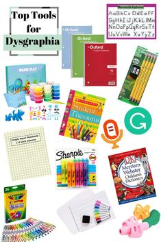 Wow, this dyslexia resource is amazing. I used the Dysgraphia tips mentioned with lots of success. I so glad I found these dyslexia strategies. Dysgraphia Symptoms, Dyscalculia, Dyslexia Activities, Dyslexia Strategies, Types Of Dyslexia, Dyslexia Quotes, Sharpie Highlighter, Crayola Colored Pencils, Dry Erase Board