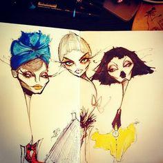 fashion illustration by jamie lee reardin