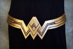Cinturón de Cosplay de mujer maravilla