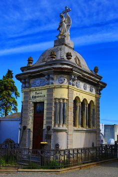 Punta Arenas cemetery, Chile