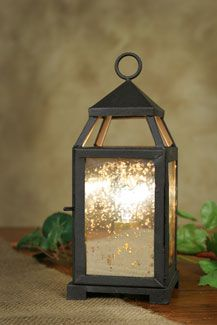 Small Lancaster Lantern – Mercury Glass – CTW Home Collection Online Store
