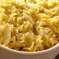 Haluski - Cabbage and Noodles Allrecipes.com