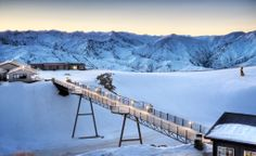 It's time to enjoy winter in New Zealand! Do so much fun by visit Snow Park! The ultimate freestyle place for skiers and snowboarders alike, tucked away in the stunning Southern Alps of New Zealand.  Find us on facebook/twitter: Luxury NZ Malaysia