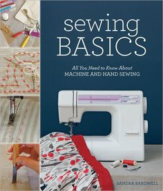 the ultimate encyclopedia for sewing at home including trouble-shooting (something I always need).