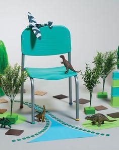 Imagen de Silla infantil PICCOLO tamaños maternal jardín y preescolar