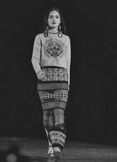 embroidered dress   #folk #embroidered #traditionalfashion #hurome Roman Gabriella Fashion Designer Romania/Timisoara