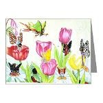 Fairy note cards from dreemdust designs by Lynda
