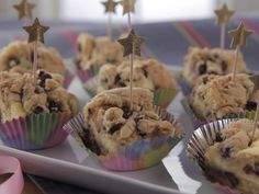 Chocolate Chip Cheesecake Bars recipe from Trisha Yearwood via Food Network (Season 6/Glenda's Birthday Costume Party)