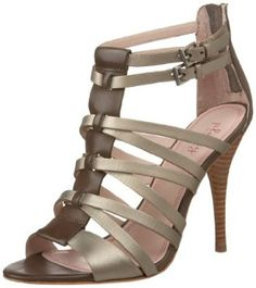 Plenty By Tracy Reese Women's Zandra Open-Toe High Heel Sandal,$66.99