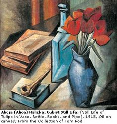 Alicja Halicka, Cubist