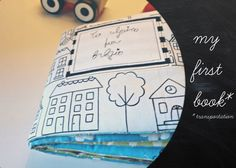 Great mountain road for Nepal Baby's first fabric book/cloth book/soft by nenimav on Etsy, €37.00