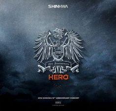 2016 Shinhwa 18th Anniversary Concert Hero Live [LP] - Vinyl