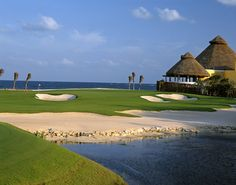 El Camaleon Mayakoba golf course in Playa del Carmen, Mexico. The only PGA golf course outside of the US/CA.