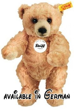 Steiff Rocky Teddy Bear (Beige) by Steiff.  #Toy #TOYS_AND_GAMES