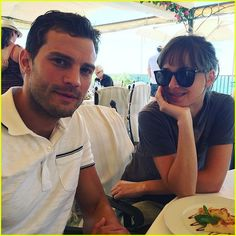 Fifty Shades' E.L. James Shares Behind-the-Scenes Photos From Set!: Photo #3714743. Fifty Shades author E.L. James shared some behind-the-scenes set photos of Jamie Dornan, Dakota Johnson, and more cast and crew on set for the final days of filming…