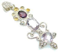 Passion Light Lilac Quartz Sterling Silver Pendant – Jewelry