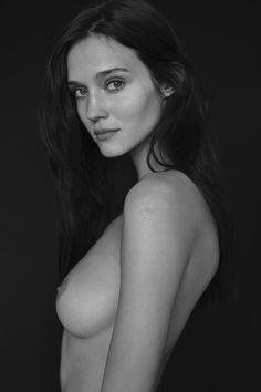 Johanna Szikszai Nude Photography Portrait Photography People Photography Nude Portrait Buns