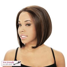 LACE FULL IMAN-it's a wig! offers various types and numerous styles of Lace Wigs. More over, it's a wig's full lace ensures its internal stability; lightweigt, natural hairline, and also Full Lace is airy & breathable.  100% Hand-tied hair on the super-delicate lace cap, Full Lace will keep you cool even in summer season!