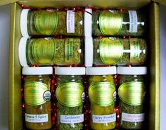 Around The World! Organic Spice Gift Set - http://spicegrinder.biz/around-the-world-organic-spice-gift-set/