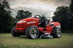 Honda Mean Mower Anyone who ever said mowing the lawn wasn't fun obviously never cut their grass with the Honda Mean Mower. The body from a production mower, this machine is all hotrod underneath. Its 309 pounds sit on a custom chassis and suspension, with wheels taken from an ATV. Power comes from a 109 horsepower VTR Firestorm 1,000cc engine, driven through a paddle-shifted six-speed transmission. The best part — it'll hit 60mph in just four seconds, and has an estimated top speed of…