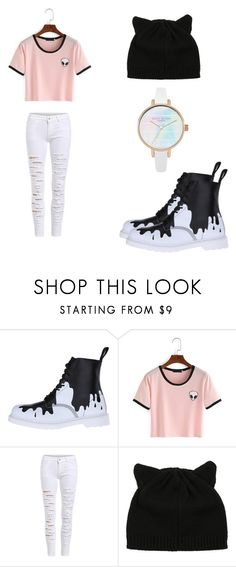 """What to wear in school"" by itsofia on Polyvore featuring Dr. Martens"