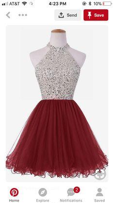 f6d765df484 Light pink corset mirror beaded tutu formal prom homecoming dresses ...