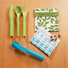 Cloverware Utensil Set & lunchskins®