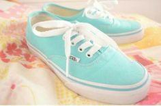 Light blue vans #sneakers