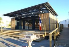 Supersolar Fresnel Lenses Power Team ABC's Green-Roofed Sumbiosi Solar Decathlon House