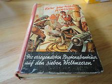 FAHR ZUR HÖLLE ,NINGUNO! F.W.Brook  Altes Leihbuch,Stärkere Gebrauchsspuren