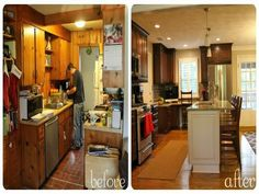Kitchen Remodel Before And Afters  Kitchen Remodeling Before Stunning Remodeling Kitchen 2018