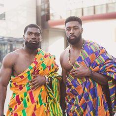 Ghanaian wedding ft chock str men in kente Photography by Fine Black Men, Gorgeous Black Men, Handsome Black Men, Black Boys, Fine Men, Beautiful Men, Strong Black Man, African Men, African Beauty