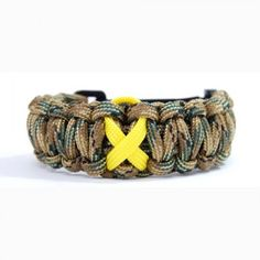 support our troops paracord bracelet made in the usa with military grade paracord - Support Our Troops Silicone Bracelet