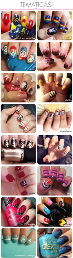 Miscellaneous Manicures #manicure #pedicure #fingernail #finger #nail #polish #lacquer #paint