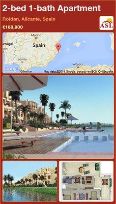 2-bed 1-bath Apartment in Roldan, Alicante, Spain ►€168,900 #PropertyForSaleInSpain