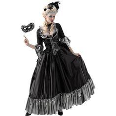Masquerade Queen Adult Halloween Costume