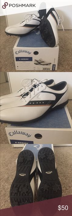 Callaway golf shoes size 8.5 Ladies Callaway golf shoes size 8.5. New in box. Never been worn. Callaway Shoes Athletic Shoes