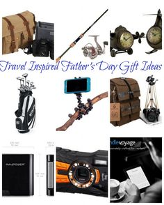 travel inspired fathers day gift ideas