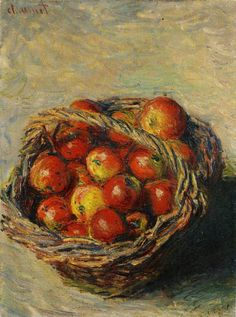Claude Monet Basket of Apples 1883 50.5 x 37.8 cm Oil on canvas Private collection