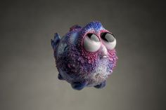 Oddly Cute Deep Sea Creatures Sculpted From Polymer Clay