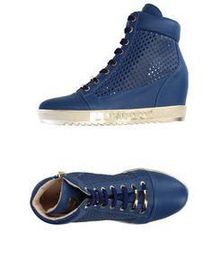 Prezzi e Sconti: #Loriblu sneakers and tennis shoes alte donna Blu scuro ad  Euro