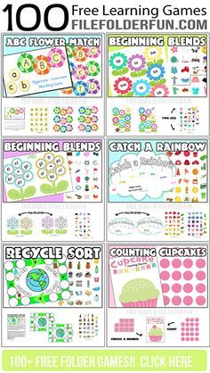 100+ Free Printable Learning Centers