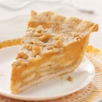 Crumb-Topped Apple & Pumpkin Pie Photo