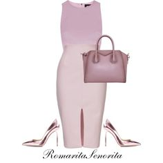 Berry by romaritasenorita on Polyvore featuring Rebson, Gianvito Rossi and Givenchy